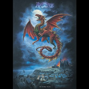 Whitby Wyrm Dragon Poster