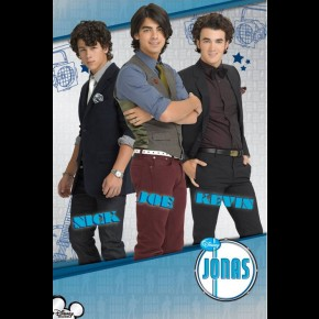 Jonas Brothers (Lights) Poster