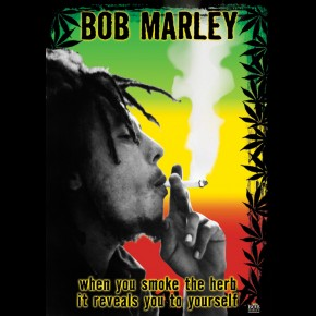 Bob Marley Herb Reveals Poster