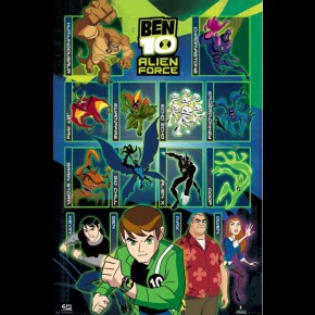 Ben 10 Alien Force (Characters) Poster
