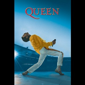 Queen Freddie Mercury Live At Wembley Poster