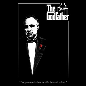 Godfather (Red Rose) Poster