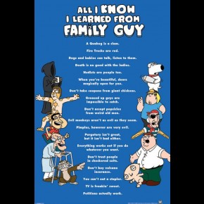Family Guy All I Know Poster