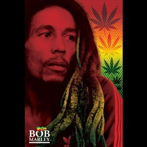 Bob Marley (Dreads) Poster