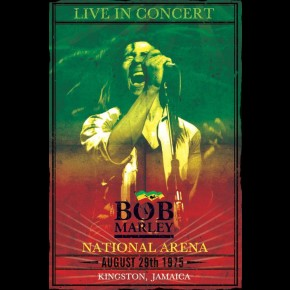 Bob Marley In Concert Poster