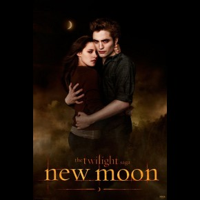 Twilight New Moon Edward & Bella Poster