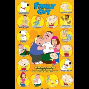 Family Guy Leave Me Alone Poster
