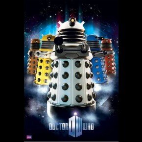 Doctor Who Daleks Poster