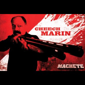 Machete Padre / Cheech Marin Poster
