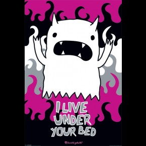 David & Goliath I Live Under Your Bed Poster