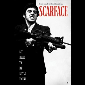 Scarface (Say Hello) Poster