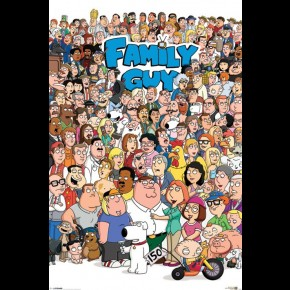 Family Guy Characters Poster