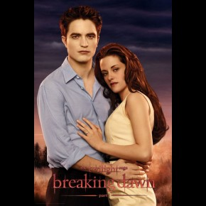 Twilight Breaking Dawn Edward & Bella Poster