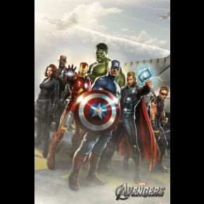 Avengers (Flight Deck) Poster