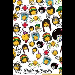 Music Smiley World  Poster