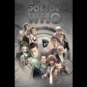 Doctor Who (Doctors Through Time) Poster