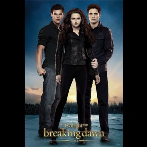 Twilight Breaking Dawn Part 2 Poster (Bella, Edward and Jacob)