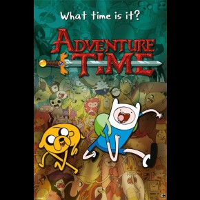 Adventure Time (What Time) Poster