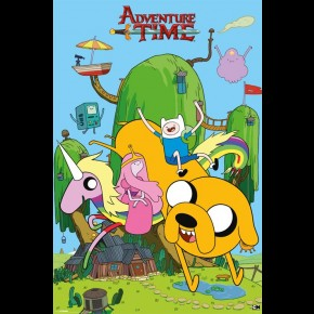 Adventure Time (House) Poster