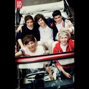 One Direction (Car) Poster