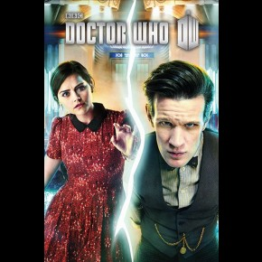 Doctor Who And Clara (Split) Poster