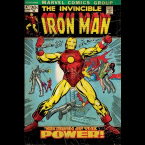 Marvel Iron Man (Power) Poster