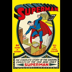 Superman Comic Poster