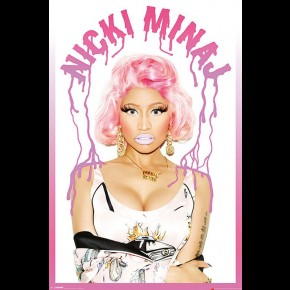 Nicki Minaj (Dripping) Poster