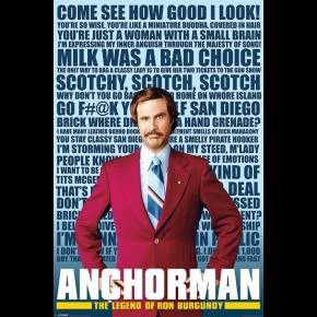 Anchorman (Quotes) Poster