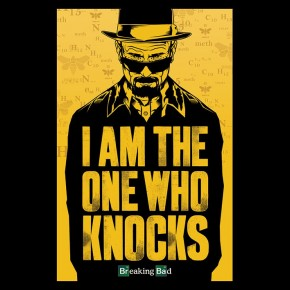 Breaking Bad (One Who Knocks) Poster