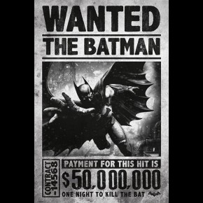 Batman Arkham Origins (Wanted) Poster