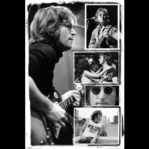 John Lennon (Collage) Poster