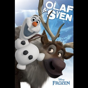 Frozen (Olaf and Sven) Poster
