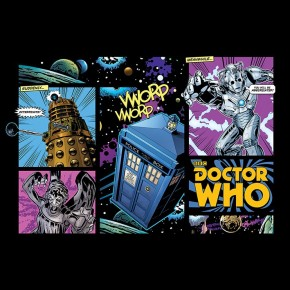 Doctor Who (Comic Style) Poster