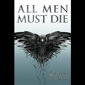 Game Of Thrones (All Men Must Die) Poster