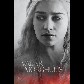 Game Of Thrones (Daenerys) Poster