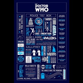 Doctor Who (Infographic) Poster