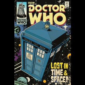 Doctor Who (Lost) Poster