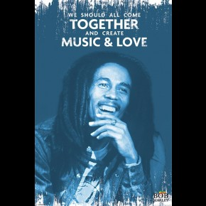 Bob Marley (Come Together) Poster