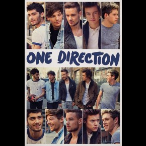One Direction (Scrapbook) Poster