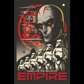 Star Wars (Galactic Empire) Poster