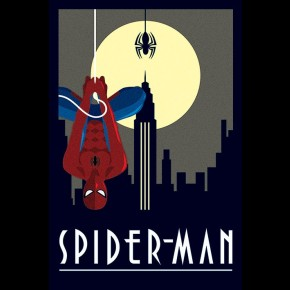 Spiderman (Marvel Deco) Poster