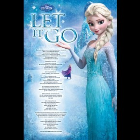Frozen (Let It Go) Poster