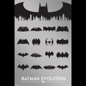 Batman Evolution Poster