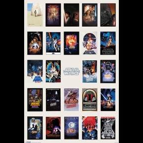 Star Wars (Poster Collage) Poster