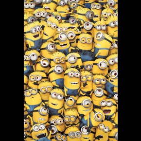 Despicable Me (Many Minions) Poster