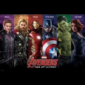 Avengers Age Of Ultron (Team) Poster