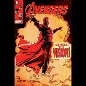 Avengers Age Of Ultron (Vision) Poster