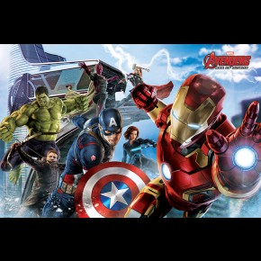 Avengers Age Of Ultron (Re-Assemble) Poster