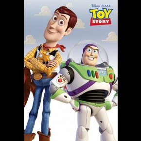 Toy Story (Woody and Buzz) Poster